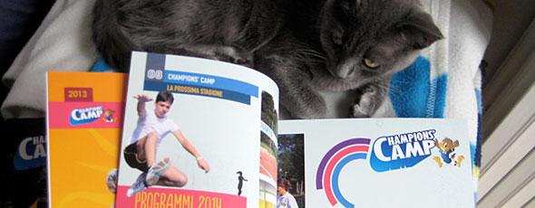 Promobook per Champions' Camp