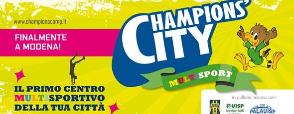 Da settembre arriva a Modena il Champions' City Multisport