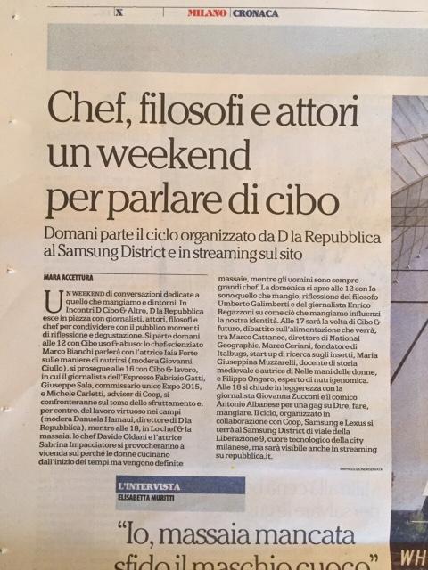 """Italbugs al convegno de """"La Repubblica"""""""