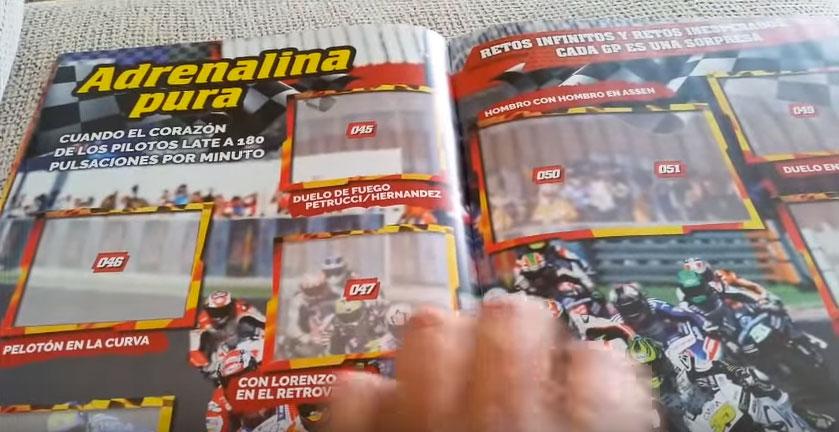 L'album ufficiale di figurine della MotoGP™ ha i miei testi