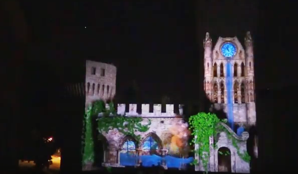 Un racconto per un castello in video mapping