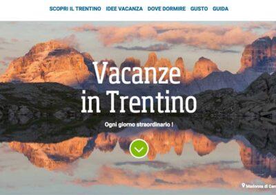 Testi per il portale turistico del Trentino