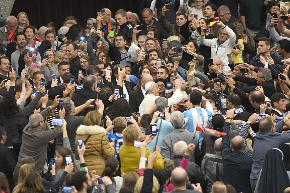 In udienza generale da Papa Francesco