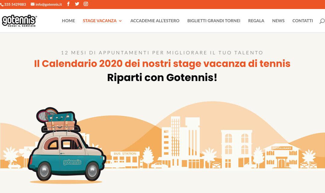 Il nuovo sito Gotennis