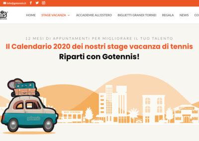Il sito Gotennis