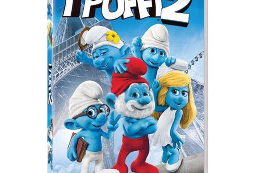 """Testi dell'album di figurine del film """"I Puffi"""""""